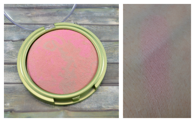 Alverde gebackenes Rouge in 10 peachy bronze Swatch