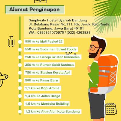 Hotel Murah Dekat Stasiun Bandung 2019