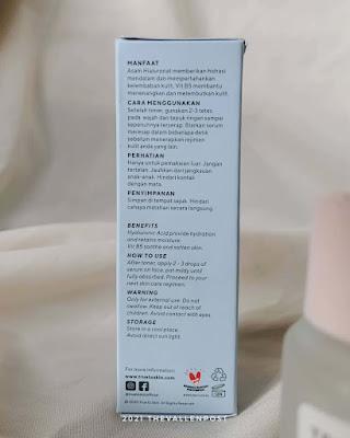 true to skin hyaluronic acid ingredients