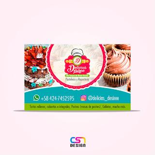 Tarjeta Delicias Desiree