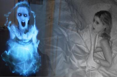 EPIC HOLOGRAM GHOST PRANK!!!!