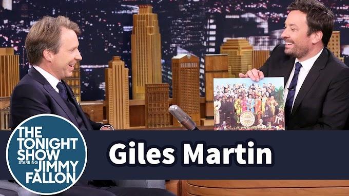 ジャイルズ・マーティン 米人気テレビ番組に出演「Sgt.Pepper's~リミックス作業の最初に聴こえて来たのは父の声だった」