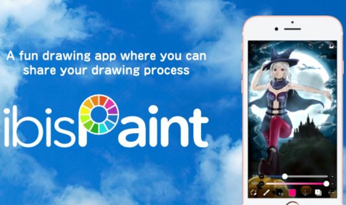 Aplikasi tuk Menggambar di Smartphone Android - ibis Paint X