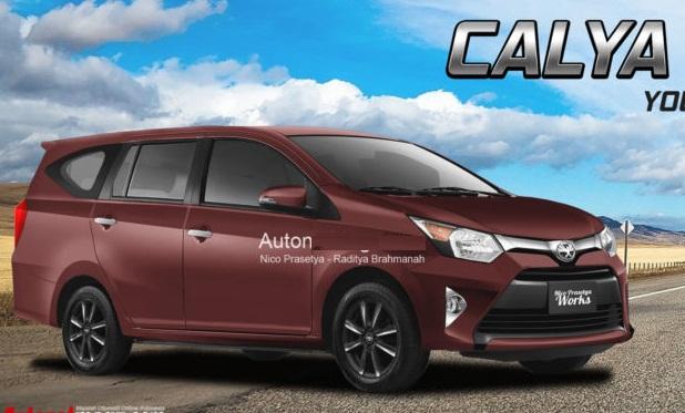 Kredit Toyota Calya Promo Cashback 2018