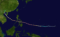 TYPHOON HAIYAN STORM PATH