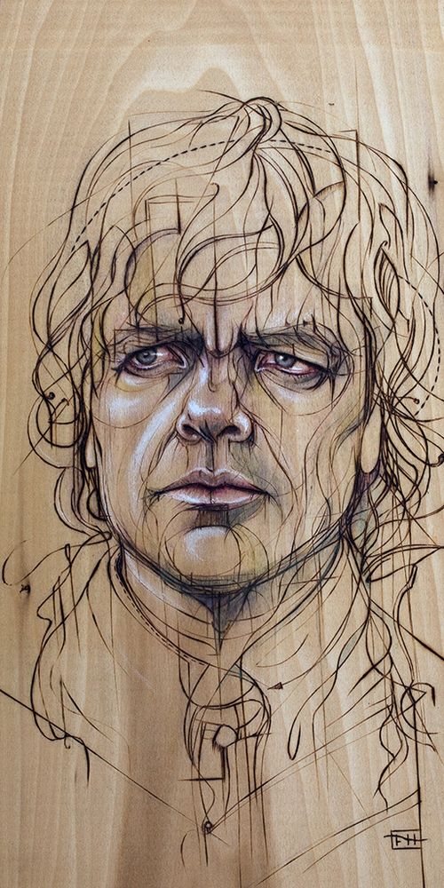 03-Tyrion-Lannister-Peter-Dinklage-Fay-Helfer-Pyrography-Game-of-Thrones-and-other-Paintings-www-designstack-co