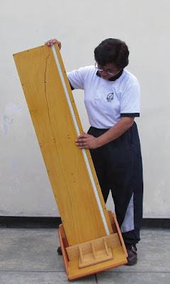 Tallimetro madera pediátrico adultos especificaciones tecnicas CENAN-Minsa