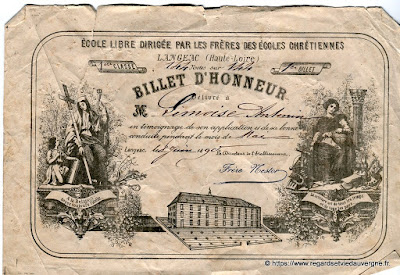 Billet d'Honneur