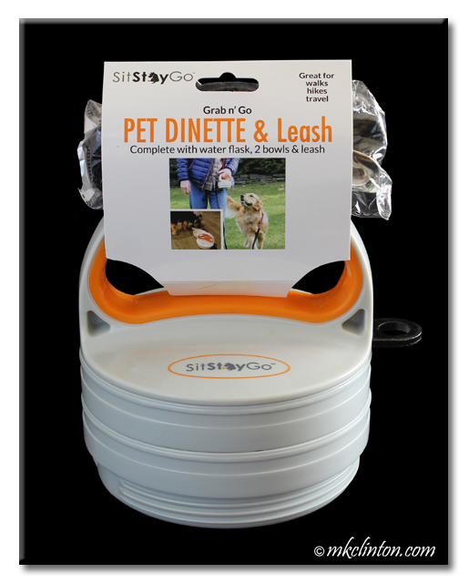 Sit Stay Go Grab n' Go Pet Dinette & Leash