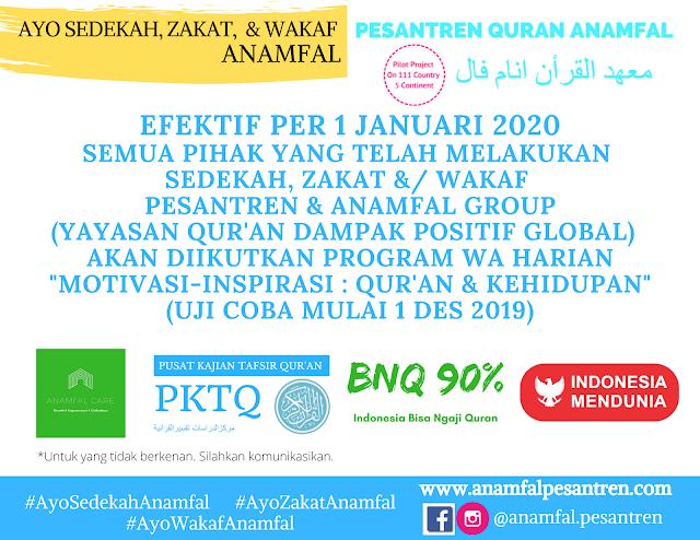 Anamfal Care : WA Harian Motivasi-Inspirasi Quran dan Kehidupan