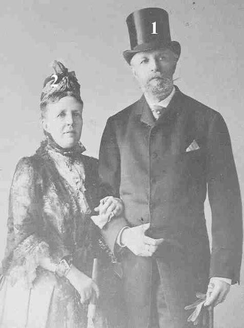 le couple royal suédois  (date inconnue)