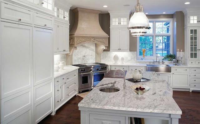 Nên chọn màu đá hoa cương nào cho mặt bếp?