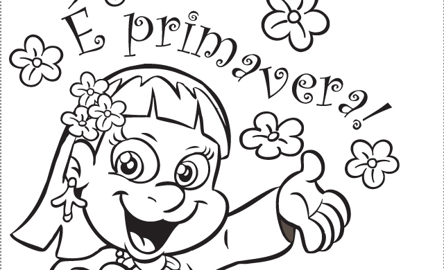 blog professor zezinho primavera desenhos para colorir e imprimir
