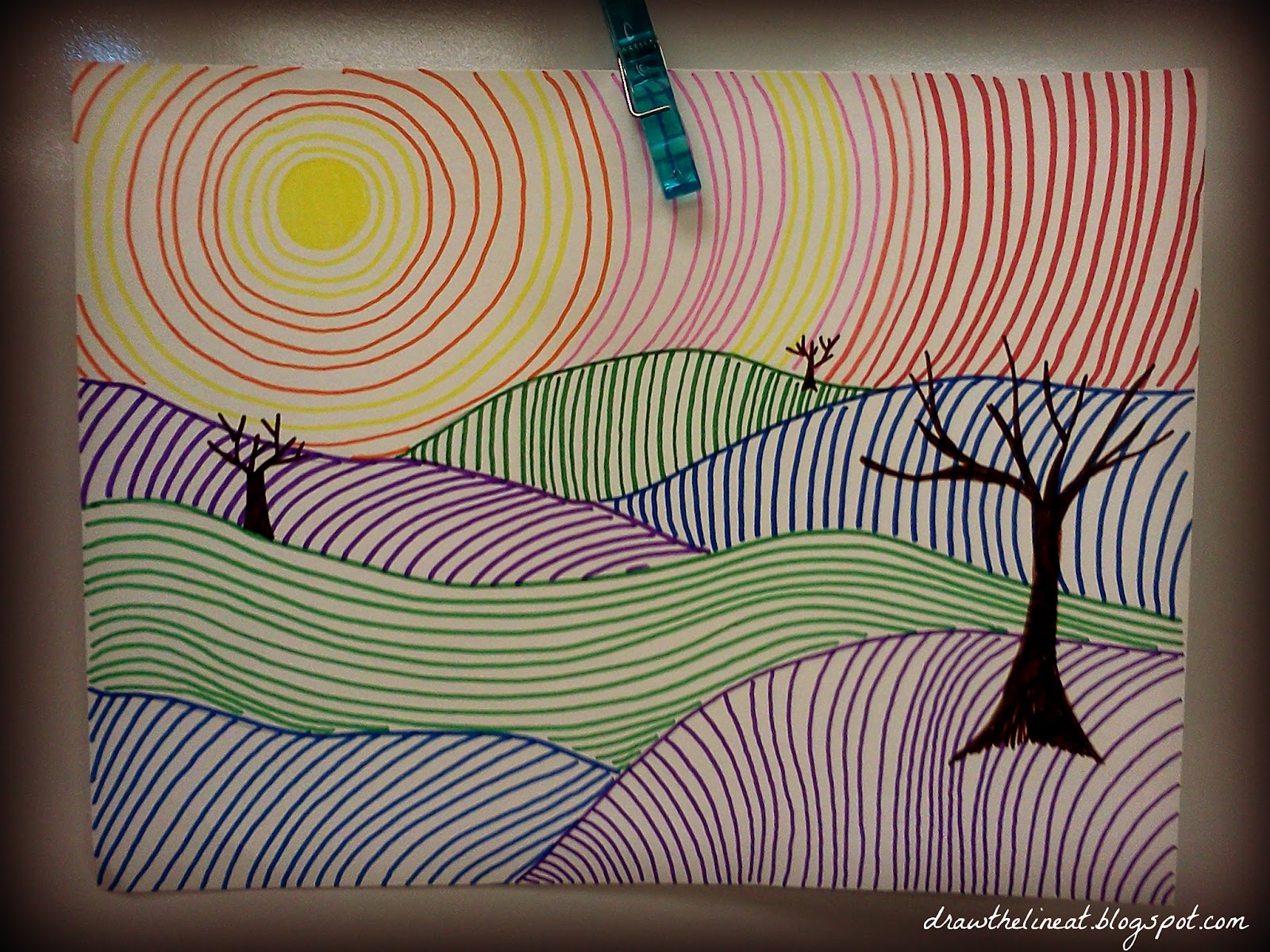 Draw The Line At Line Landscapes