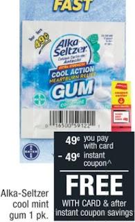 FREE Gum Single Packs CVS Deal