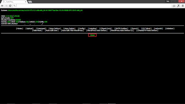 Tutorial Grab Config dan Mengambil CPanel Menggunakan Shell Backdoor