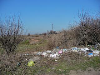 Лисівська сільська рада. Покровський р-н. Стихійне сміттєзвалище