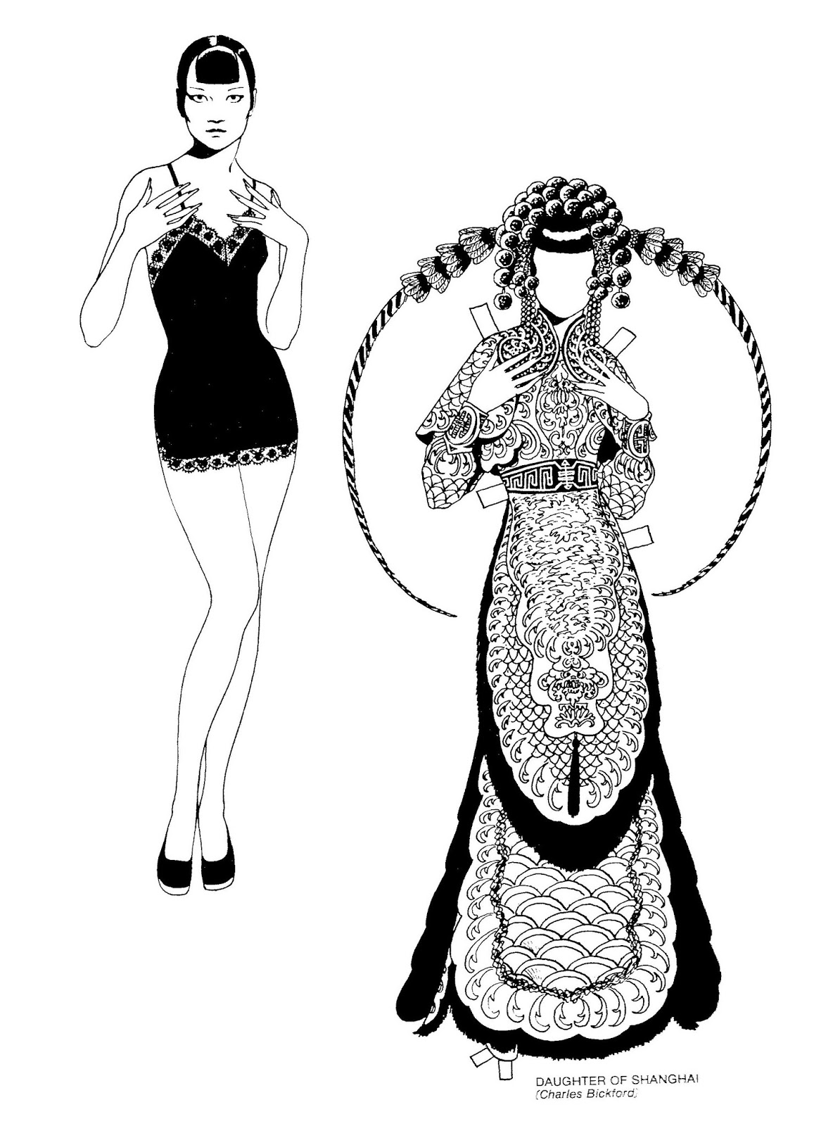 Mostly Paper Dolls Too!: ANNA MAY WONG Paper Doll