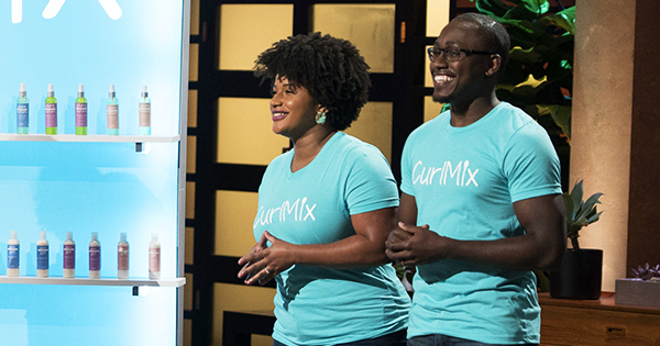 Kim and Tim Lewis, founders of CurlMix