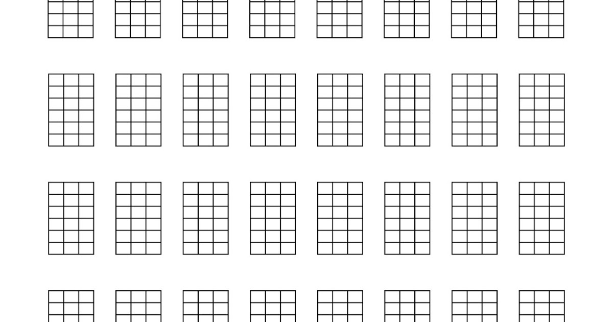 ukeonomics blank ukulele tabs and chord charts. Black Bedroom Furniture Sets. Home Design Ideas