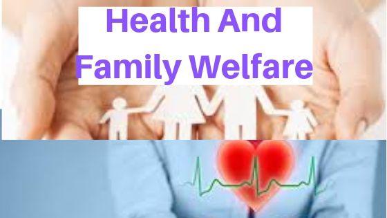 Health and Family Welfare