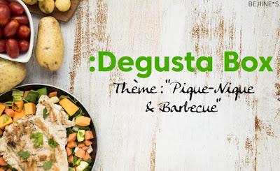 Degusta Box de Juin 2020 : Pique-Nique et Barbecue