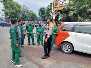 Polres Pelabuhan Makassar terus Gaungkan Prokes dengan Patroli Sambang dan Sosialisasi