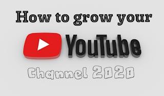 यूट्यूब चैनल ग्रो कैसे करें . Youtube channel grow kaise kren.