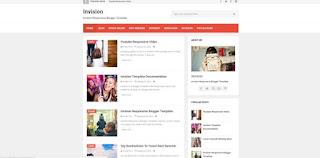 invision blogger template