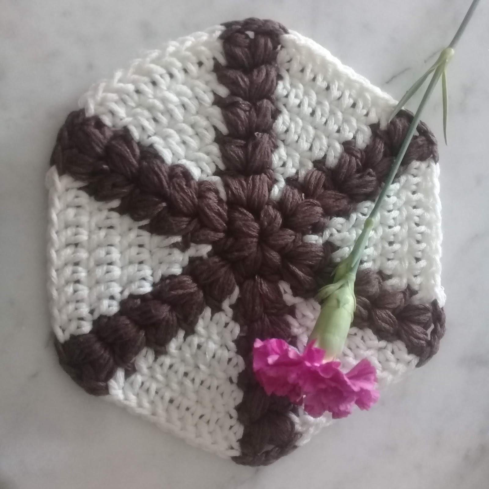 Diamond Hexagon Free Crochet Pattern