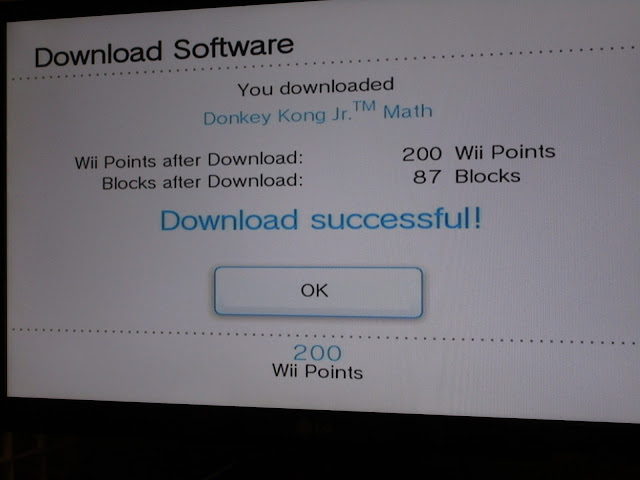 Donkey Kong Jr. Math Wii Shop Channel Virtual Console download