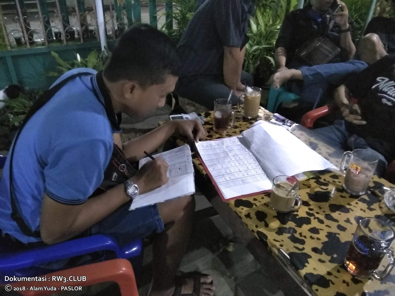 Raditya Nugroho - Pengurus Komunitas Pemuda-Pemudi RW-3 NgoPi di Angkringan