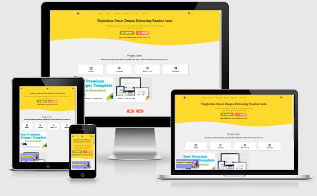 Janda Design Premium blogger template download