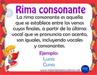 RIMA CONSONANTE