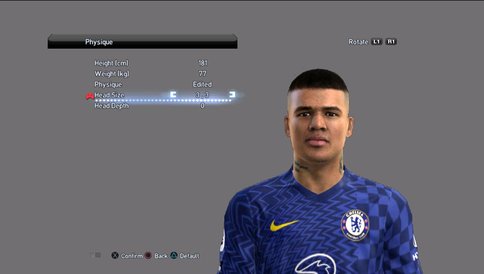 Kenedy Face For PES 2013