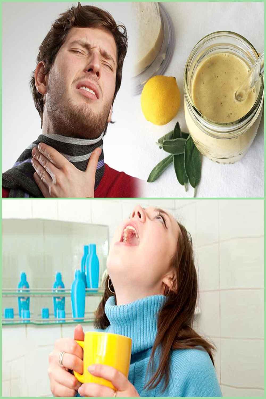 Remèdes maison pour se gargariser en cas de mal de gorge