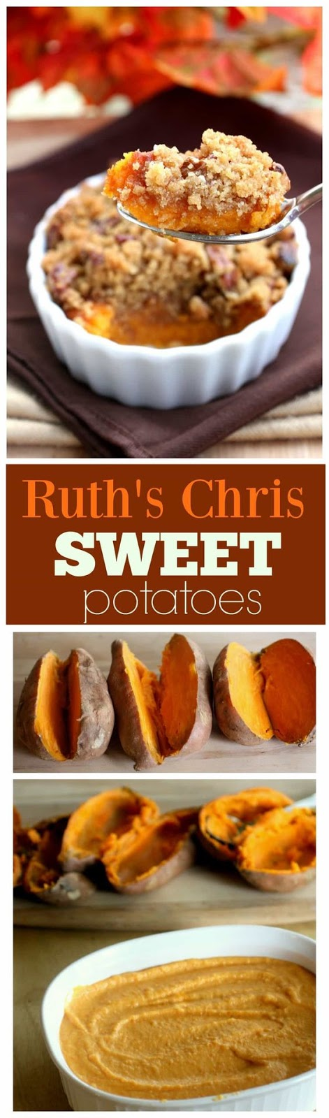 Sweet Potatoes – Ruth's Chris Style
