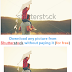 """Download any image from """"Shutterstock"""" without paying it ( for free )"""