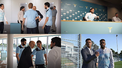 PES 2020 SS Lazio Polo Shirts & Track Suits by PESWilliam