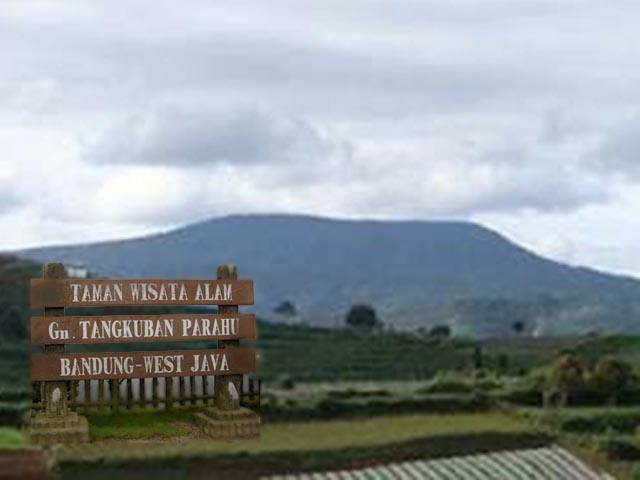 Destinasi Wisata Gunung Tangkuban Parahu di Jawa Barat