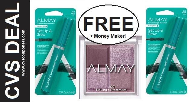 FREE Almay Mascara CVS Deal 91-97