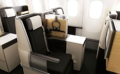 Gambar Interior Pesawat Terbesar Milik Garuda Indonesia