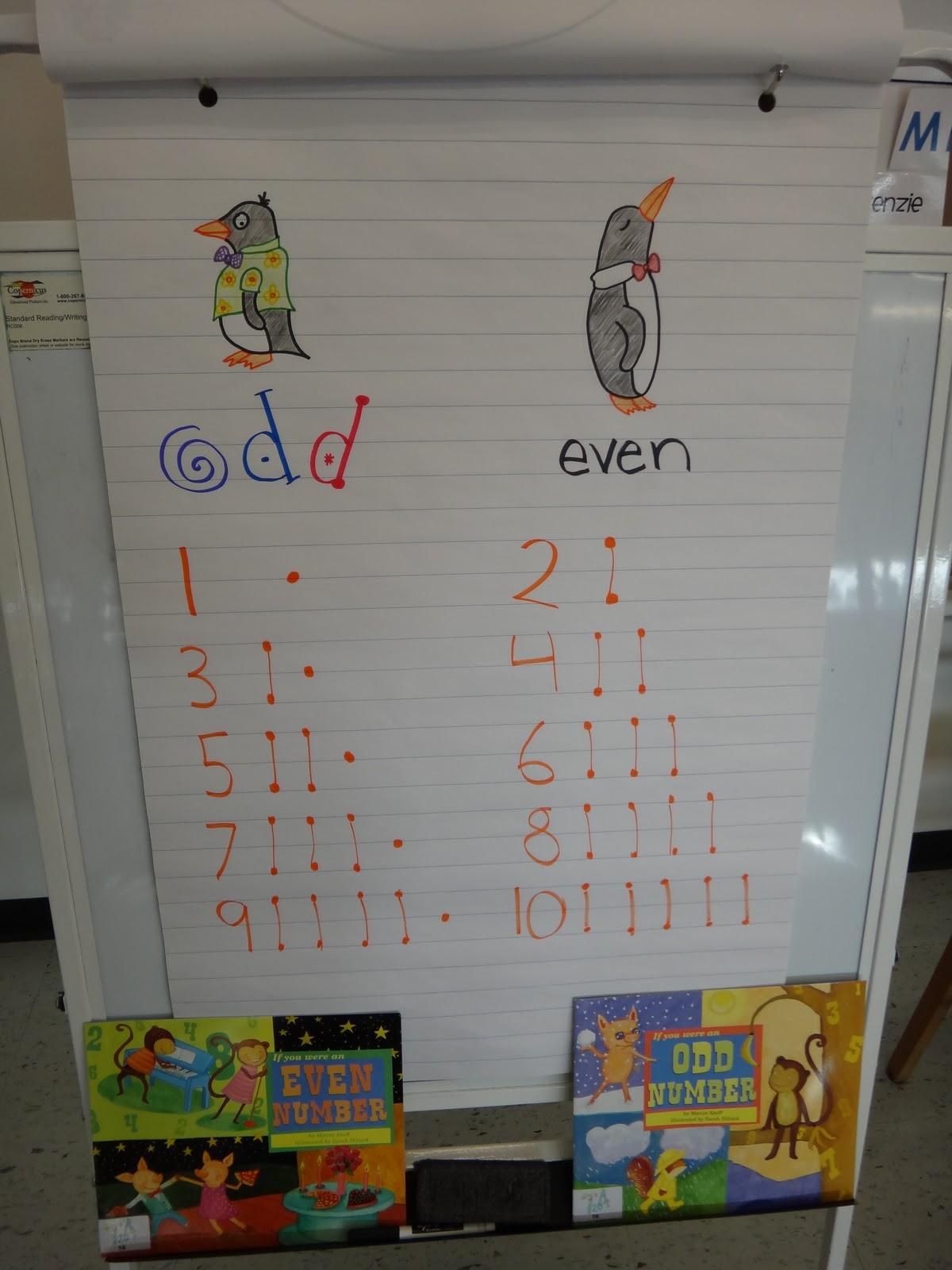First Grade Garden Math Freebie Even And Odd Number Sort