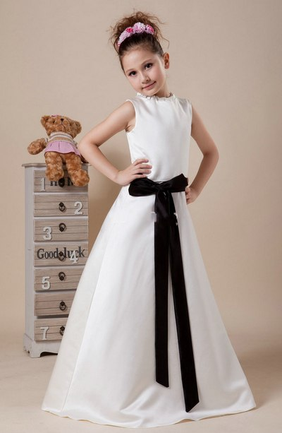 Baju Pesta Anak Umur 10 Tahun Simple panjang