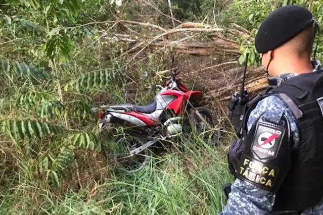 PM recupera motocicleta furtada durante a madrugada