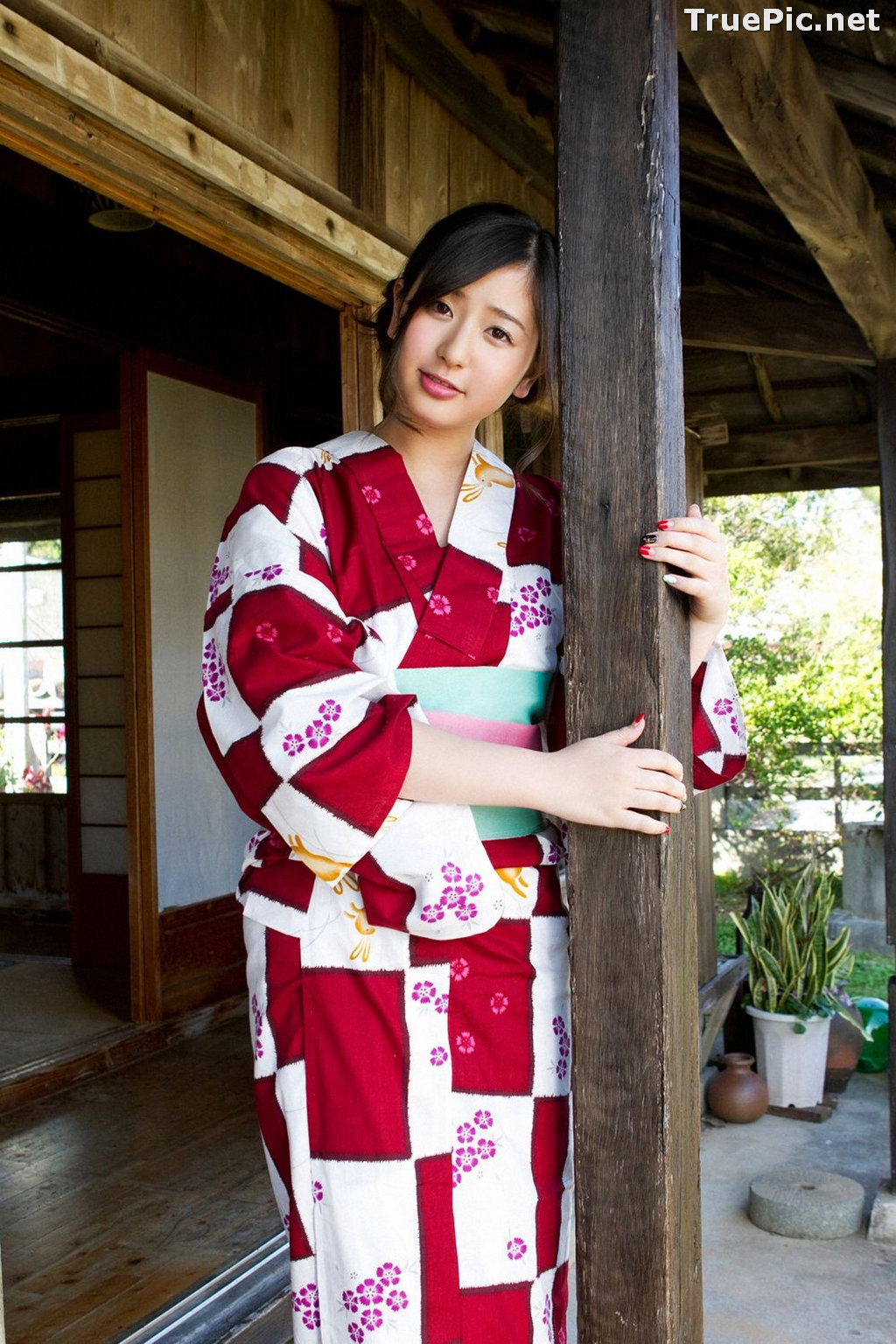 Image [YS Web] Vol.561 - Japanese Actress and Gravure Idol - Murakami Yuri - TruePic.net - Picture-4