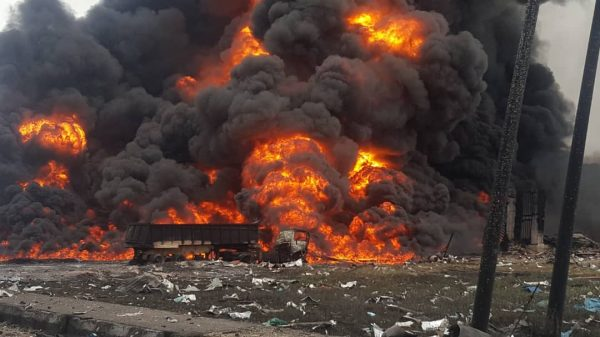 BREAKING: Seven killed as explosion rocks NNPC facility
