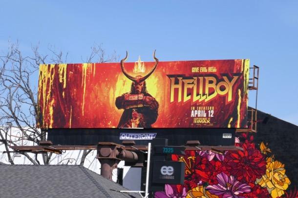 Hellboy 2019 remake billboard