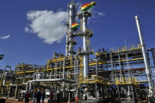 Bolivia registra histórica producción de gas
