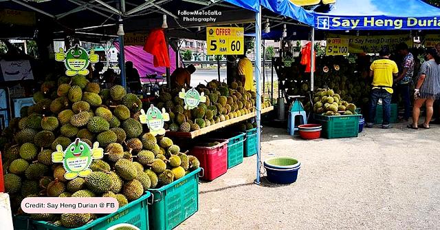 Say Heng Durian Stall, Subang Jaya